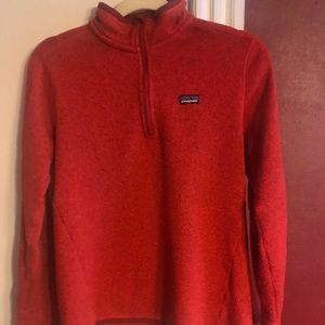 Patagonia better sweater zip up